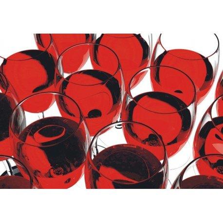 Mosaico Copas de Vino Tinto