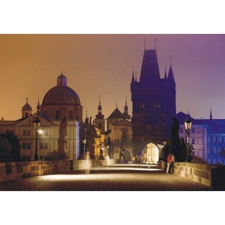 Anochecer Romántico en Praga