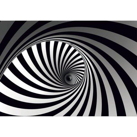 Espiral Blanco y Negro al Infinito