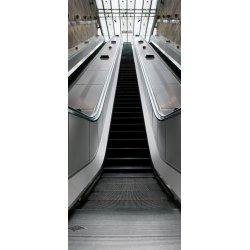 Escaleras Mecánica Subida en el Metro