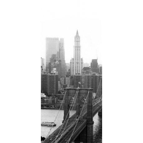 Sobre el Puente de Brooklyn