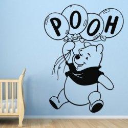 Winnie Pooh con Globos