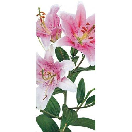 Ramo de Flores en Rosa y Blanco