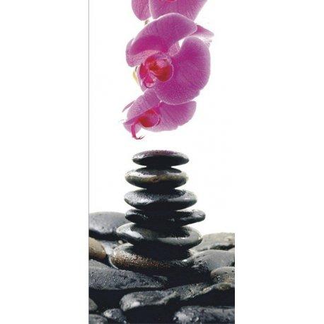 Piedras Zen en Equilibro con Flor