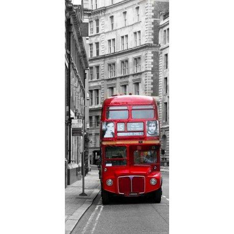 Calle Londres Rojo sobre Gris