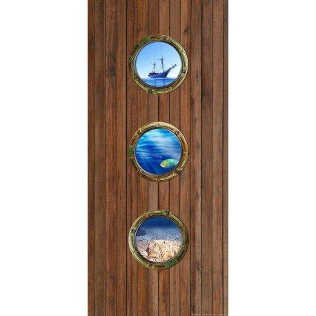 Ventanas Barco en el Mar