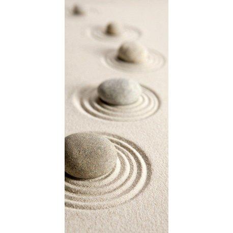 Piedras Zen sobre la Arena