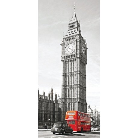 Autobús Londres frente a Big Ben