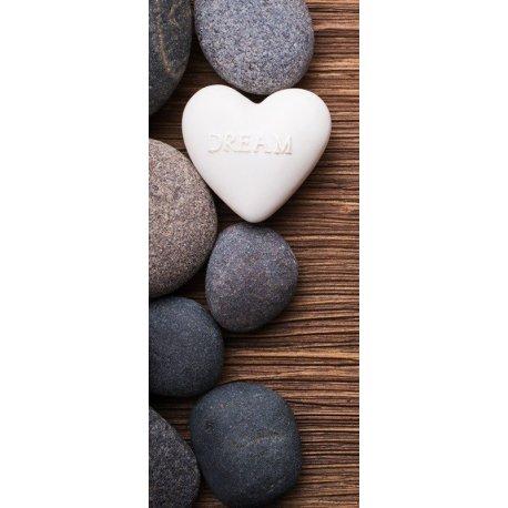 Piedras Zen con Mensaje Dream