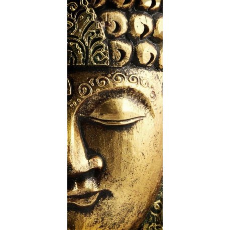 Rostro del Gran Buda Dorado