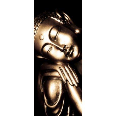 Buda Sabiduría Mano sobre Rodilla
