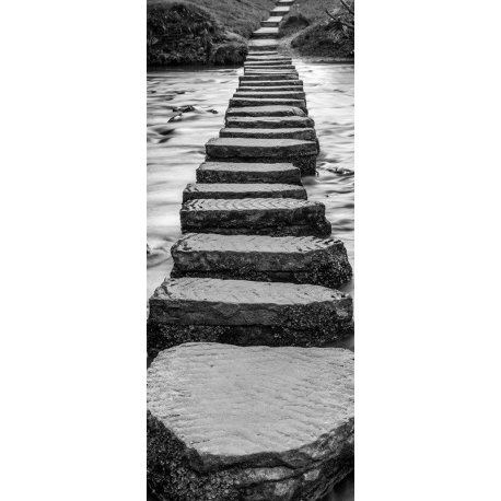 Paso de Piedras sobre el Río