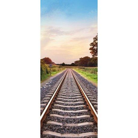 Vías de Tren por el Campo