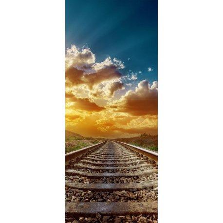 Vías de Tren hasta el Horizonte