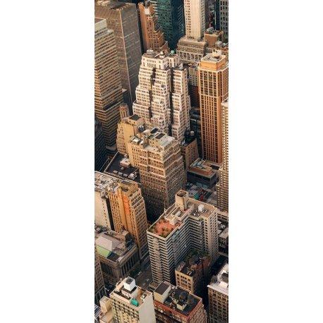 Rascacielos Manhattan a vista de Pájaro