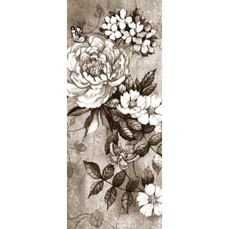 Dibujo de Rosa en Blanco y Negro