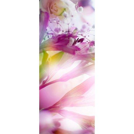 Flores Violetas Iluminadas