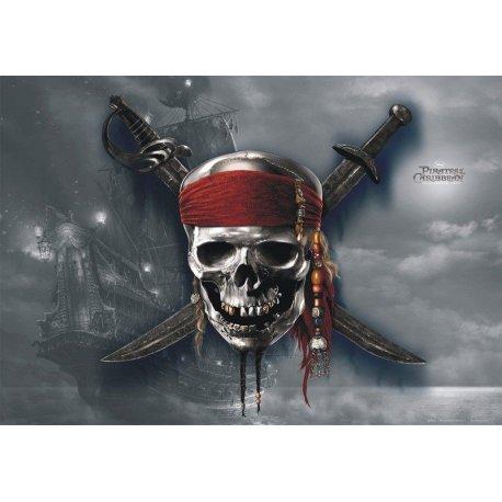 Emblema Piratas del Caribe Película
