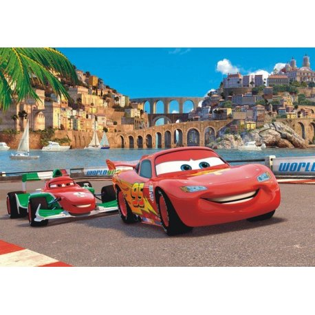 Rayo McQueen Carrera en la Costa
