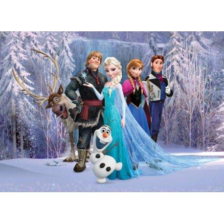 Protagonistas Frozen en el Bosque