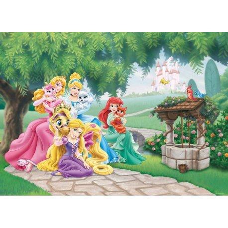 Princesas Disney con sus Mascotas