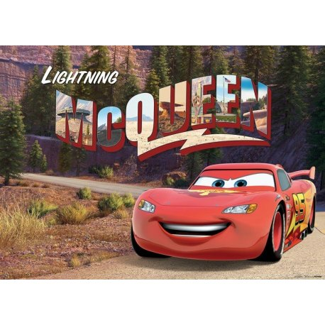 Rayo McQueen Protagonista Cars