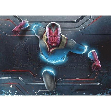 Visión en los Vengadores La Era de Ultron