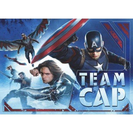 Civil War Equipo Capitán América Marvel