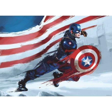 Capitán América Al Ataque Comic