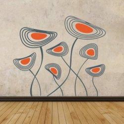 La Danza de Flores Abstractas