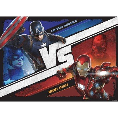 Capitán América vs Iron Man Civil War