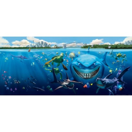 Protagonistas Buscando a Nemo en Sidney