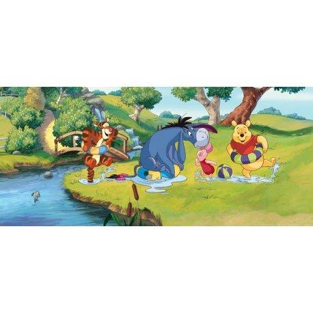 Winnie The Pooh y Amigos Baño en el Río