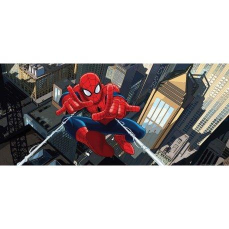 Spiderman en Moto por las Calles