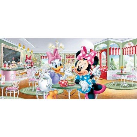 Minnie Mouse y Daisy en la Cafetería