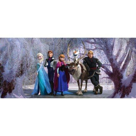 Frozen en el Bosque de Invierno