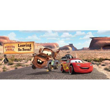 Rayo McQueen y Mate Ruta por el Desierto