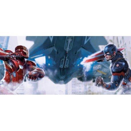 Iron Man vs Capitán América Civil War