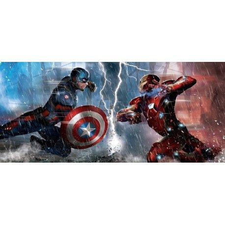 Iron Man y Capitán América Frente a Frente