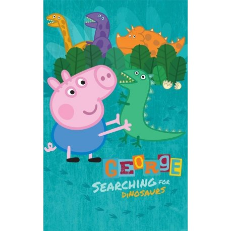 Peppa Pig buscando los Dinosaurios