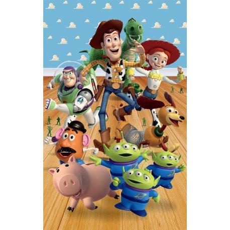 Amigos Toy Story en la Habitación de Andy