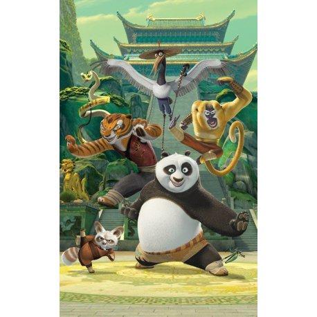 Kung Fu Panda y Amigos en el Templo