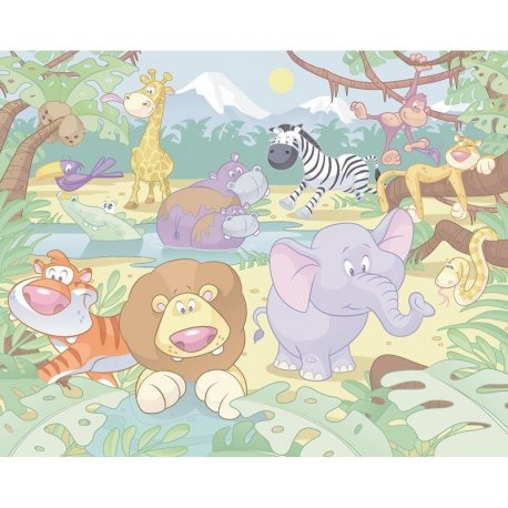 Animales de la Selva Dibujo Infantil