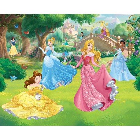 Las Bellezas Disney en el Jardín