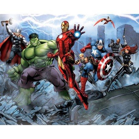Los Vengadores Película Listos para el Ataque