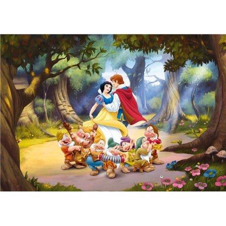 Blancanieve y los 7 Enanitos con el Príncipe