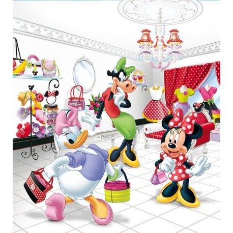 Daisy Minnie y Clarabelle de Compras