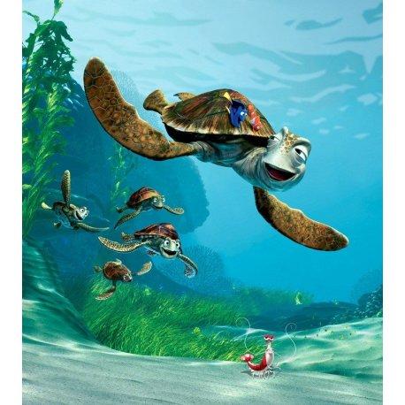 Viaje en Tortuga de Nemo y Dory
