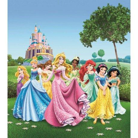 Princesas Pasean por el Jardín Disney
