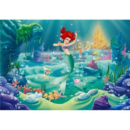 La Sirenita Ariel en el Fondo del Mar